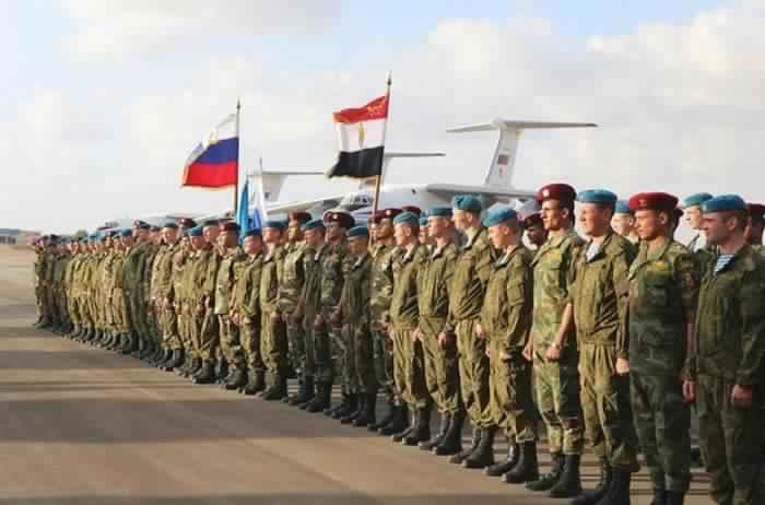 مناورات عسكرية مصرية روسية ـ أرشيفية