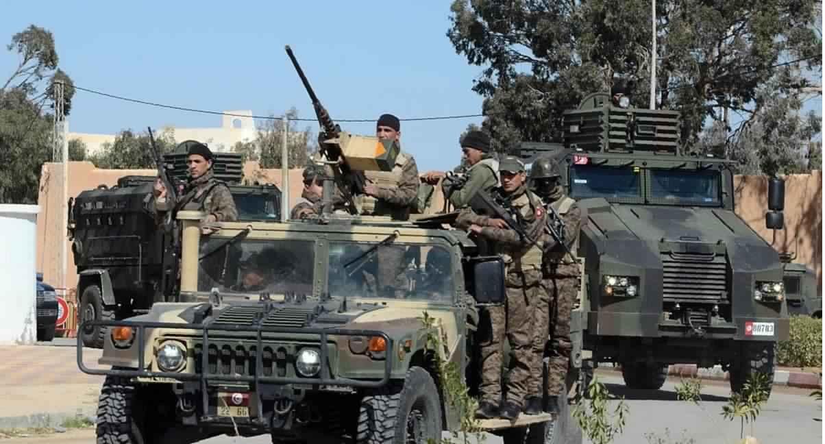 عناصر الجيش التونسى