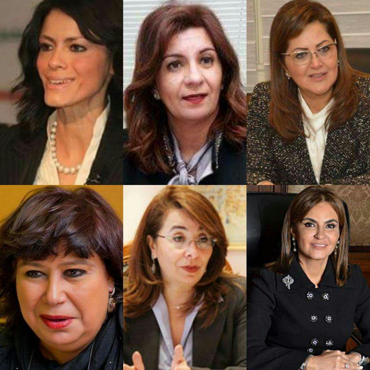 6 وزيرات في حكومة واحدة