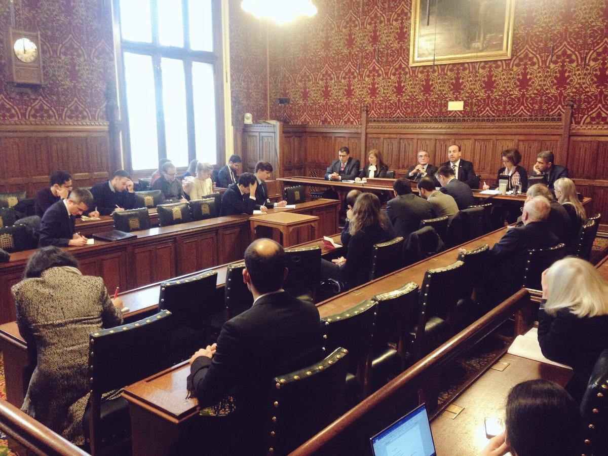 اجتماع هيئة التفاوض السورية بالبرلمان البريطاني