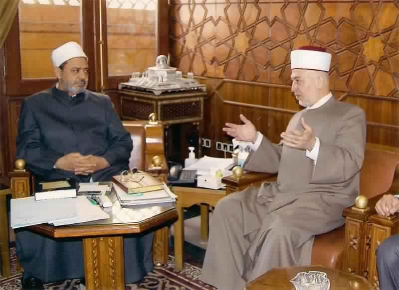 الدكتور يوسف سلامة خطيب المسجد الأقصى المبارك