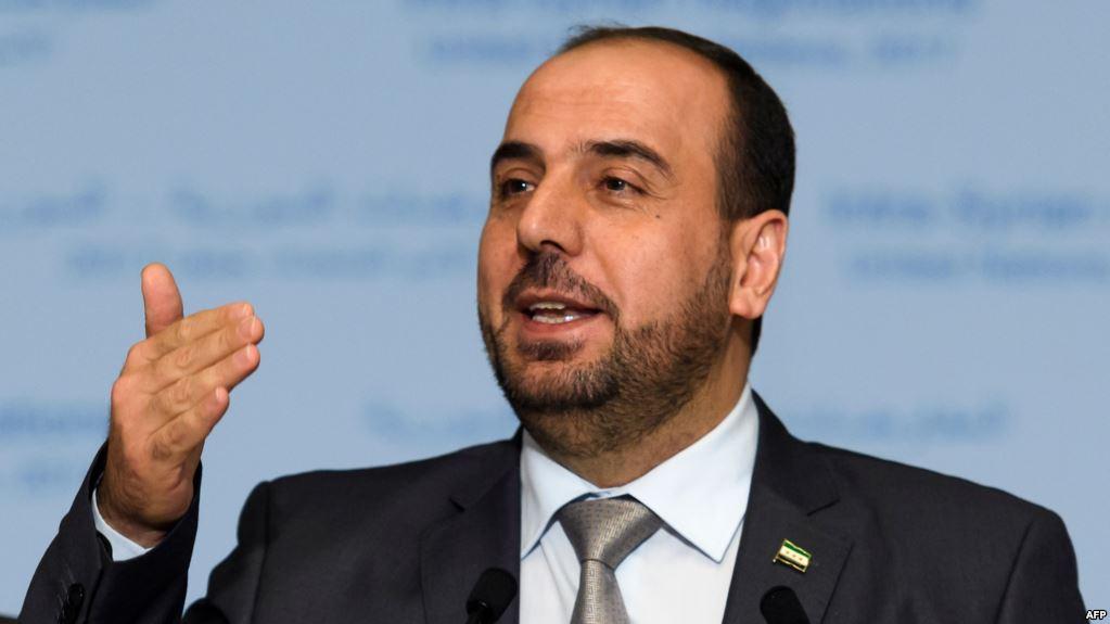 نصر الحريري المتحدث باسم هبئة التفاوض السورية