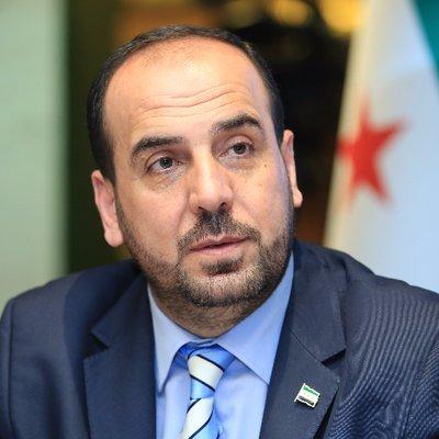 نصر الحريري رئيس هيئة التفاوض السورية