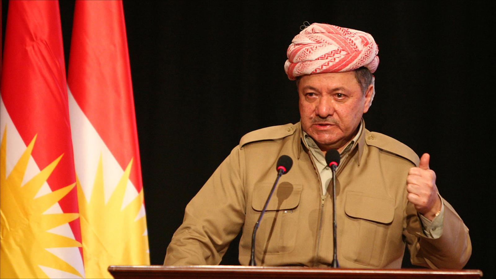 رئيس إقليم كردستان