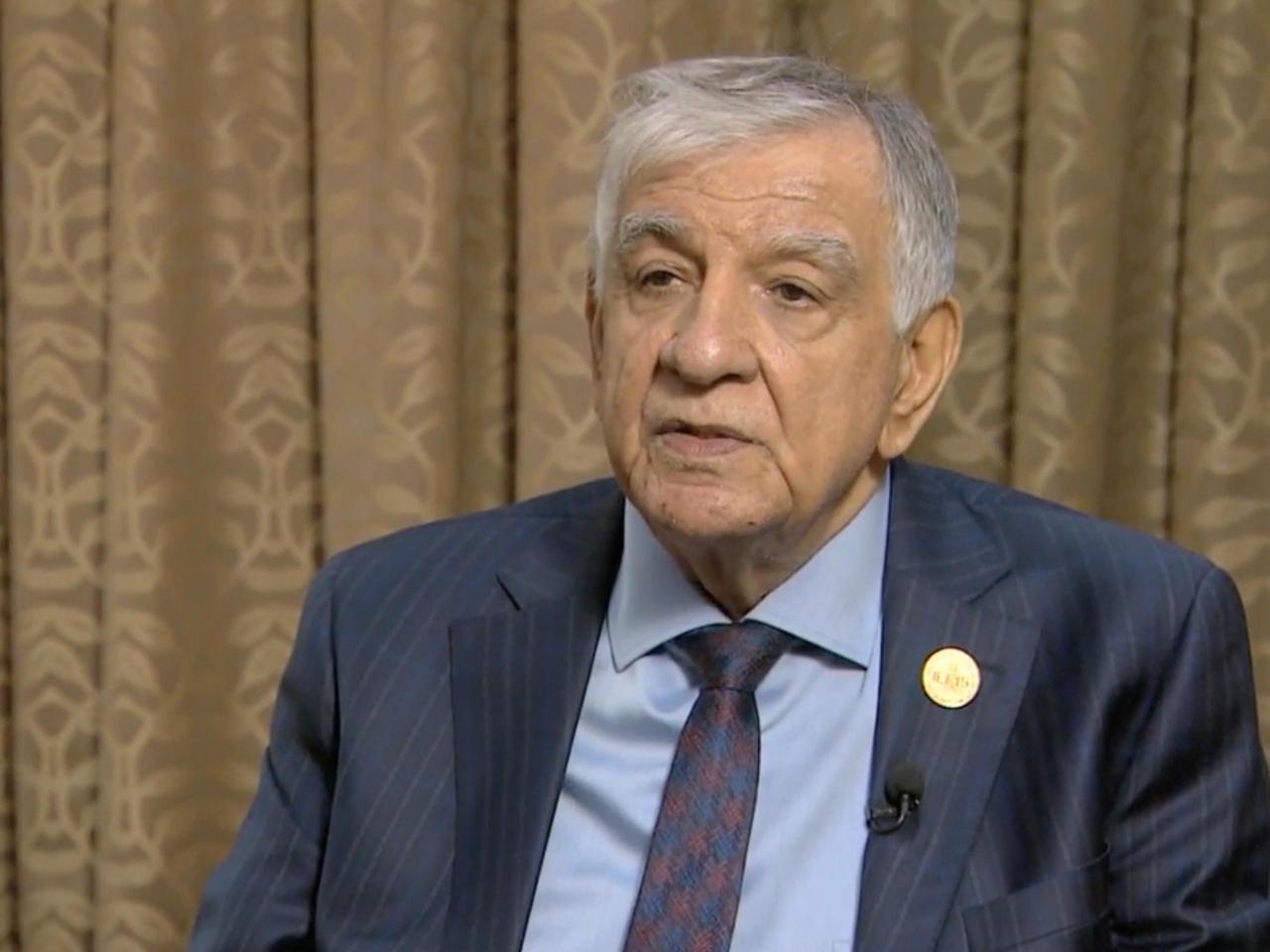 وزير النفط العراقي جبار اللعيبي