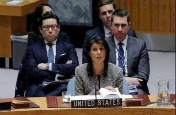 المندوبة الأمريكية لدى الأمم المتحدة نيكي هالي
