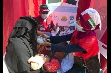 علاج المئات من الروهينغا في مخيمات بنغلاديش تزامنا مع اليوم الوطني الـ46