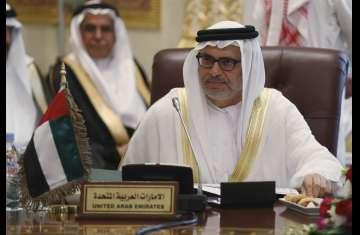 وزيرالدولة للشؤون الخارجية الإماراتي أنور قرقاش