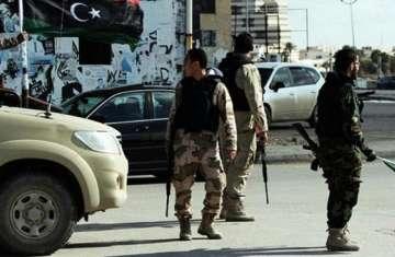 الأمن الليبي .. صورة ارشيفية