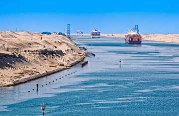 قناة السويس المصرية
