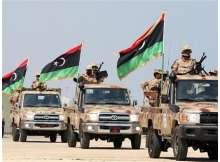 اليات تابعة للجيش الوطنى الليبي