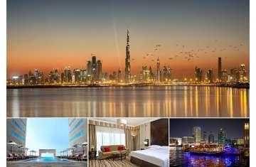 استمتع بإقامة ولا أروع في ميديا روتانا وقم بجولة رائعة في مدينة دبي أو أبحر حول دبي مارينا