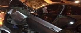 حادث مروري بوسط القاهرة