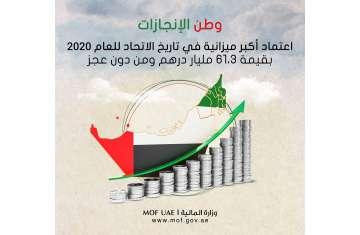 وزارة المالية تطلق عام الانجازات
