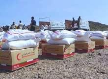 مساعدات اماراتية الر تعز وحضرموت