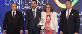 اتحاد المصارف العربية يكرم بنك قناة السويس