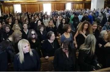 الحاضرين في جنازة سمير سيف