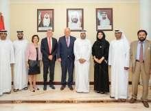 تعاون الإمارات ولاتيفيا