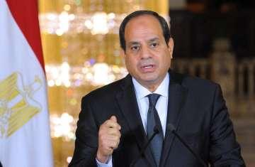 الرئيس المصري- عبدالفتاح السيسي