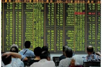 أسواق الأسهم في شرق آسيا