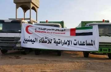 المساعدات الإماراتية للشعب اليمني