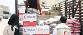 مساعدات الهلال الأحمر الإماراتي