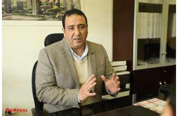 العميد خالد الحسيني المًتحدث الرسمي لشركة العاصمة الإدارية