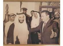 مبارك والشيخ زايد