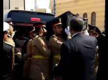 جثمان حسني مبارك