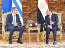 السيسي ورئيس وزراء اليونان