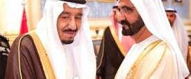 محمد بن راشد وسلمان بن عبدالعزيز