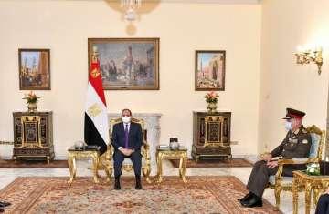 السيسي ووزير الدفاع العراقي