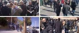 تجمعات احتجاجية في كبرى مدن إيران