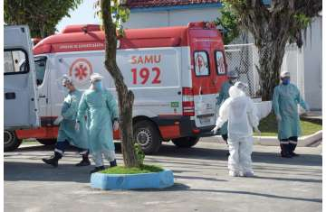 Brazil on Tuesday registered a record 1,641 deaths from Covid-19 in 24 hours
