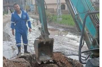 الانتهاء من تركيب الخطوط الرئيسية لشركة المياه