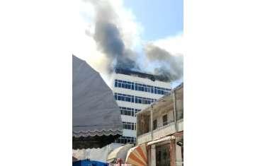 حريق هائل بحي العرب