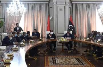 زيارة الوفد المصري لليبيا