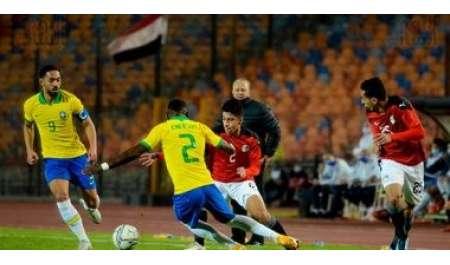 بث مباشر.. شاهد مباراة مصر والبرازيل في ربع نهائي أولمبياد طوكيو (0-0)